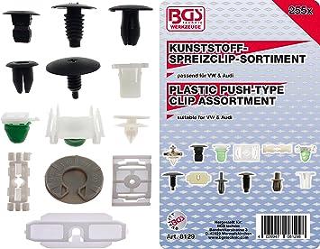 Bgs 8129 Verkleidungs Clip Sortiment Für Vw Fahrzeuge 255 Tlg Baumarkt