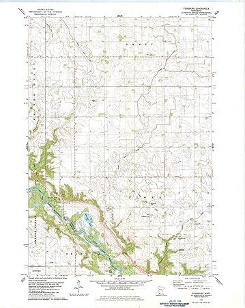 Amazoncom Minnesota Maps 1982 Vicksburg Mn Usgs Historical - Vicksburg-on-us-map