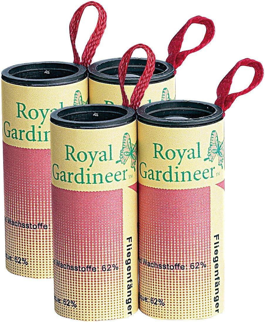 Royal Gardineer – – Trampa para moscas: mosca atrapasueños de 4 Pack (mosquitos Tiras Adhesivas): Amazon.es: Salud y cuidado personal