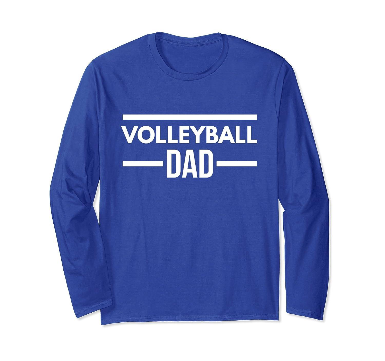 Volleyball Dad Cool Long Sleeve Tee-ln