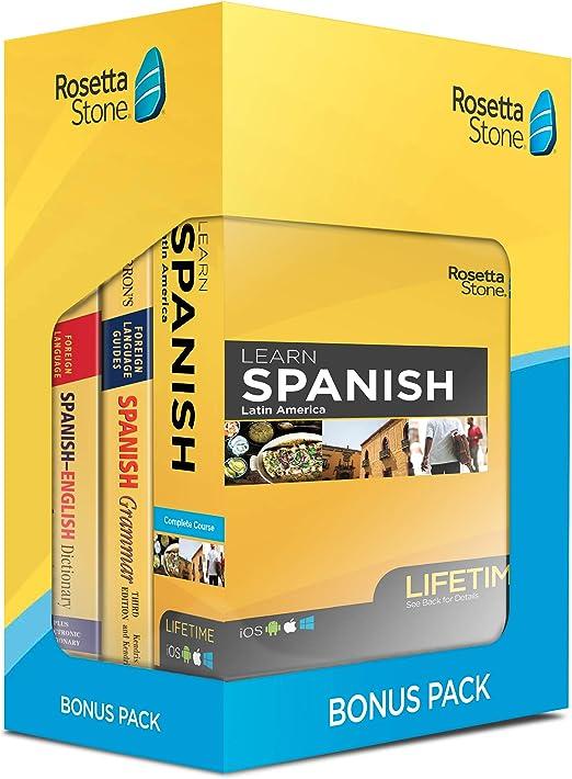 form i-9 2019 spanish  Learn Spanish: Rosetta Stone Bonus Pack Bundle (Lifetime Online Access +  Grammar Guide and Dictionary Book Set)