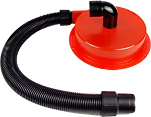 Delmar Tools Shop Vacuum Dust Separator, Installs In Seconds On 5 Gallon Buckets, Fits All Sized Containers, Included Adapter and Hose
