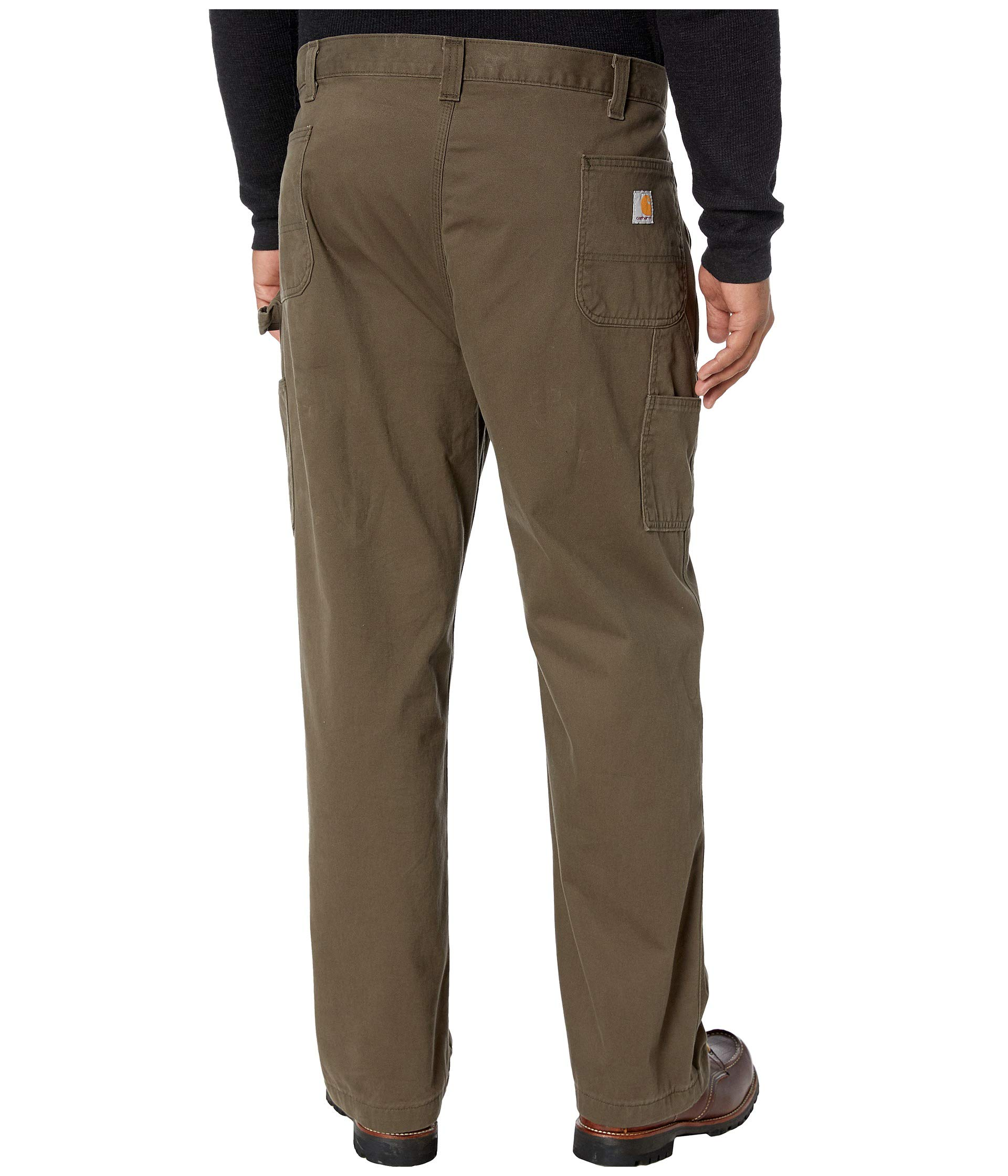 Carhartt Men/'s Relaxed-Fit Washed Twill Dungaree Pant