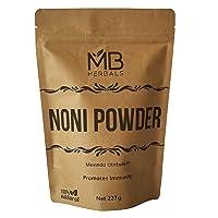 MB Herbals Noni Powder 227 Gram   8 oz   Abundant Antioxidants and Amino Acids  ...