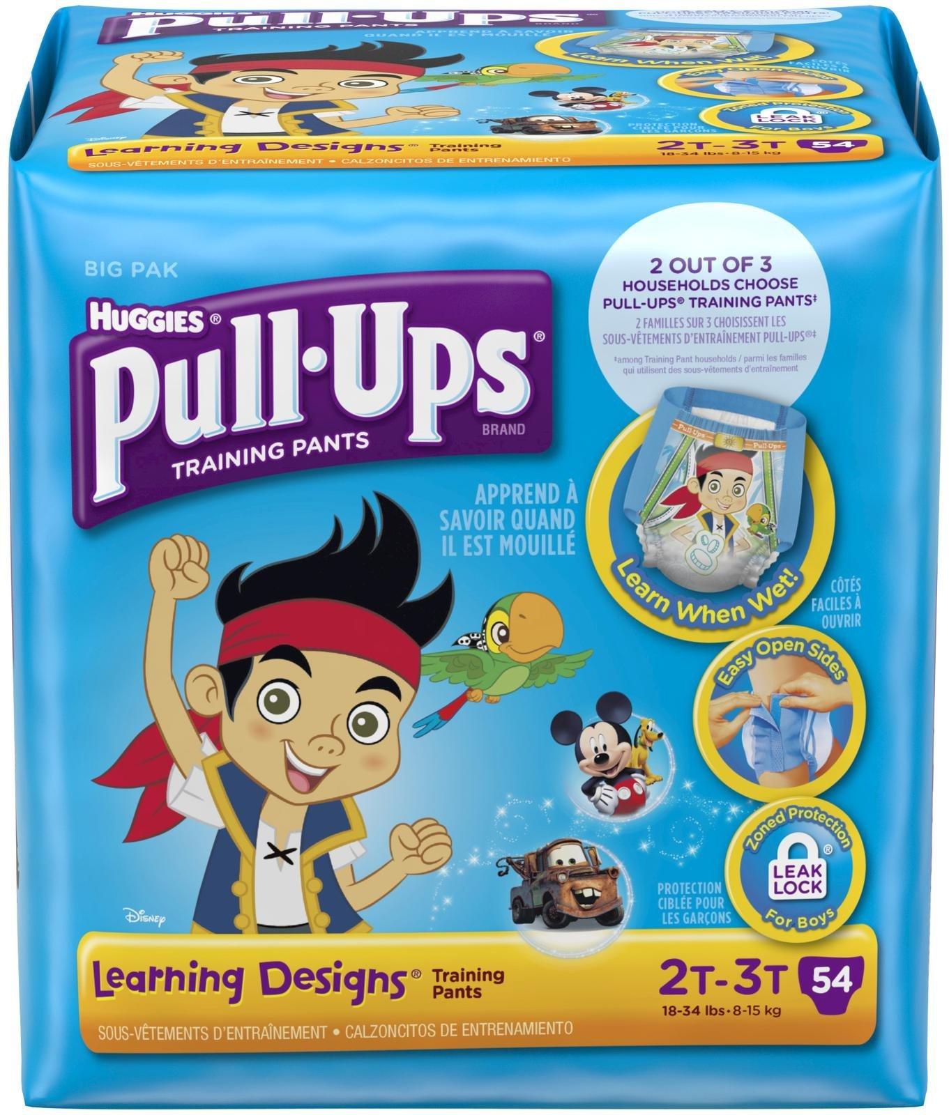 Huggies Pull-Ups Training Pants Learning Designs - Boys - 2T-3T - 54 ct