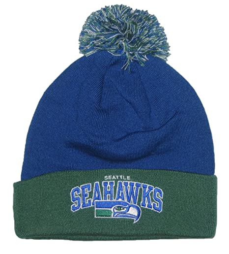 Amazon.com   Mitchell   Ness Seattle Seahawks (TS234) Vintage Ball ... cf381871f03