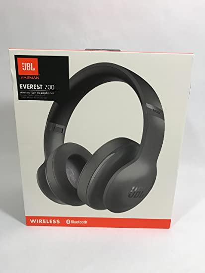 JBL Everest 700 Wireless Bluetooth Around-Ear Headphones (Black)