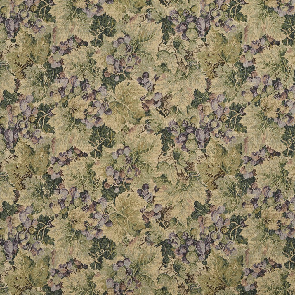 Amazon Com H850 Green And Purple Floral Leaf Tapestry Upholstery