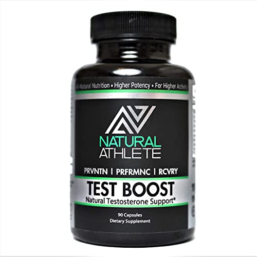 Natural Testosterone Booster for Men 90 Pills Increase Strength, Stamina, Lean Muscle Growth Horny Goat Weed, Tribulus Terrestris