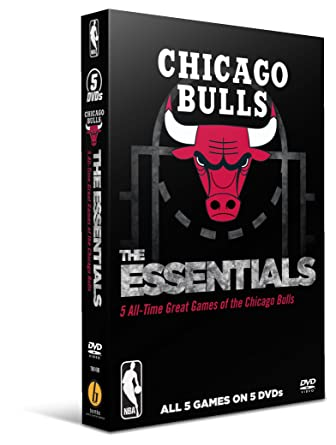 amazon co jp nba essential games of the chicago bulls dvd