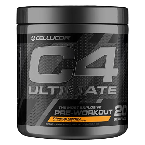 Cellucor C4 Ultimate, Sabor Orange Mango - 440 gr: Amazon.es: Salud y cuidado personal