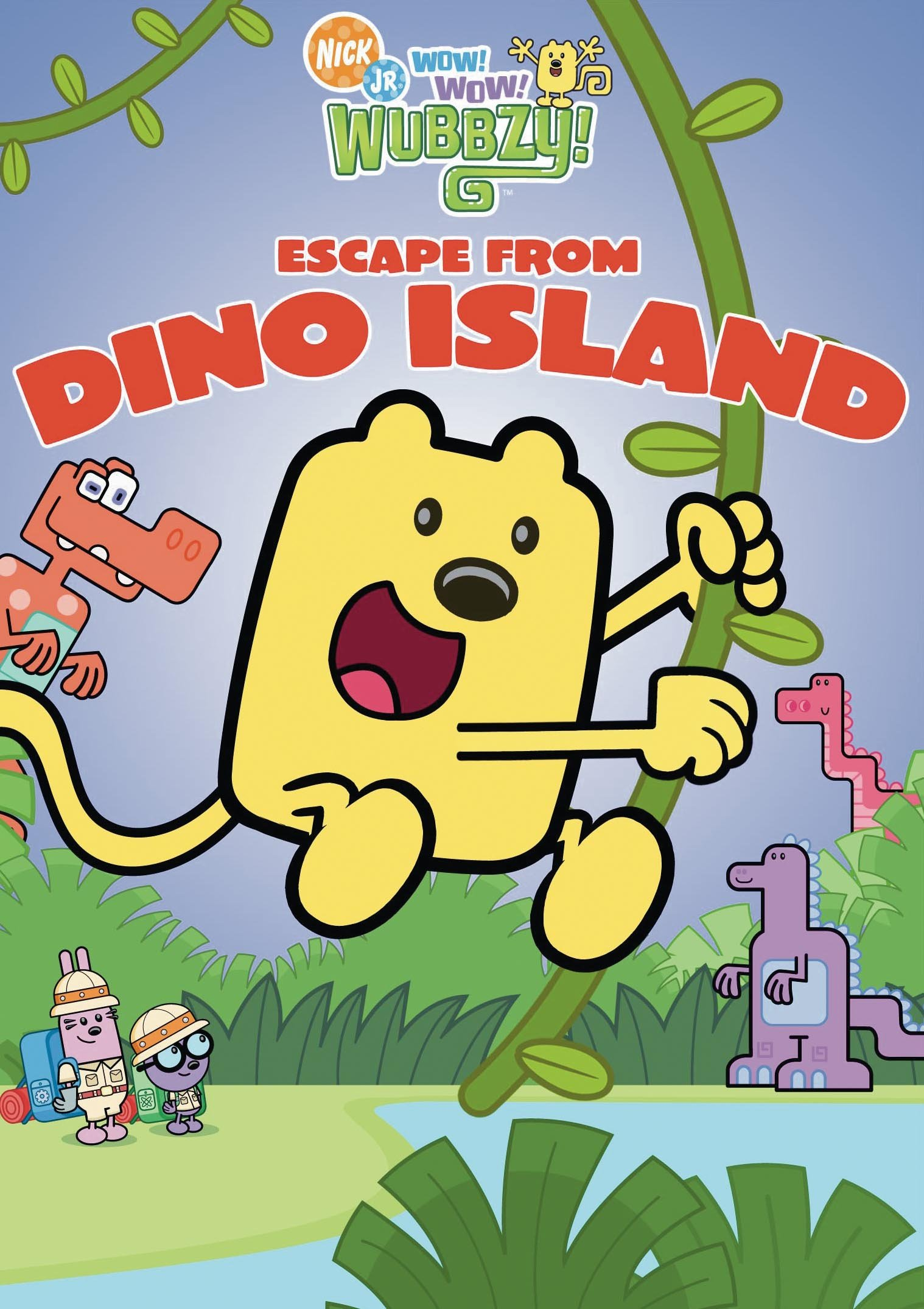 Wow Wow Wubbzy: Escape from Dino Island (DVD)