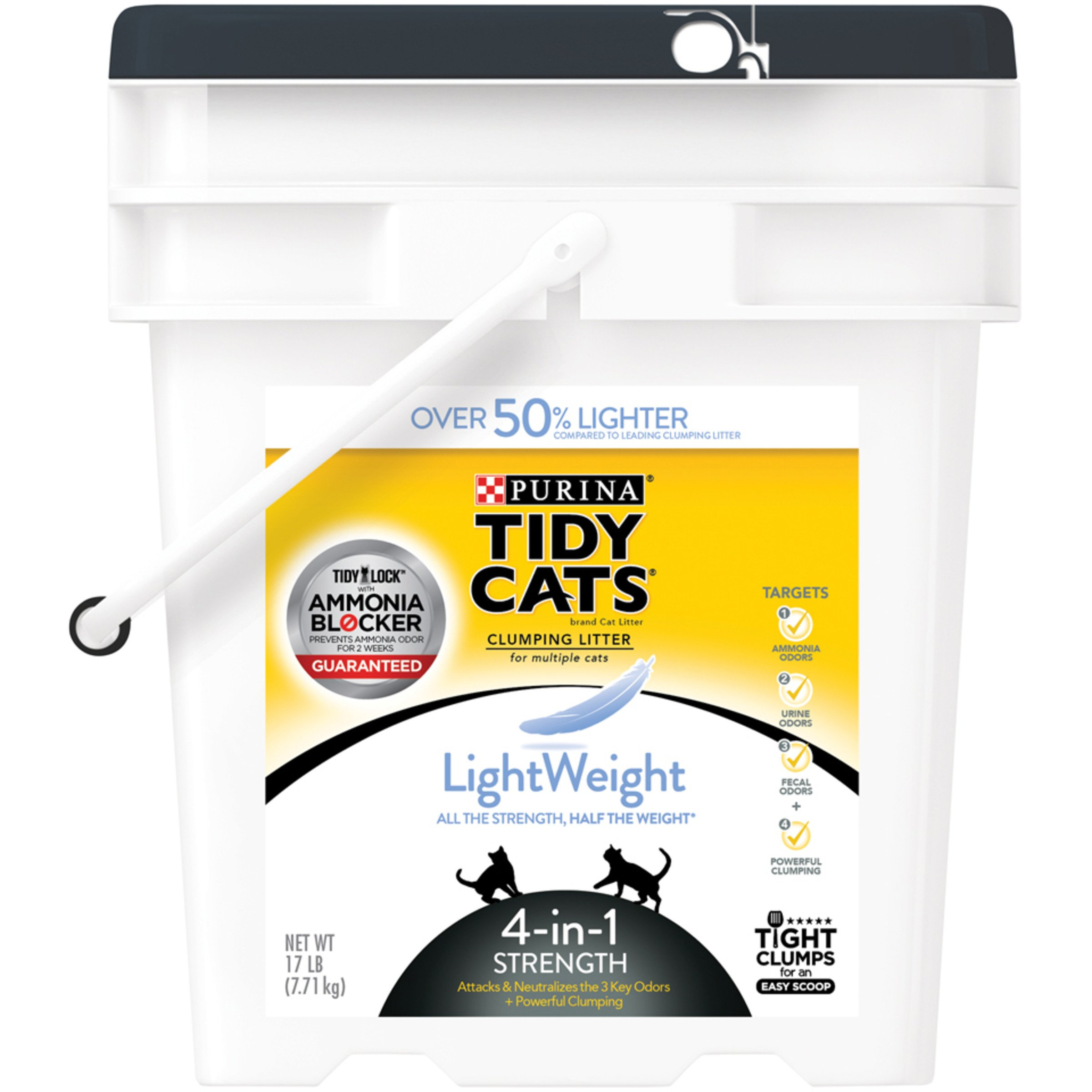 Purina Tidy Cats LightWeight Clumping Cat Litter 4-in-1 Strength