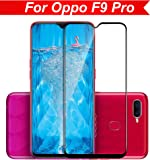 Knotyy Edge to Edge 5D Curved Full Tempered Glass Screen Guard for Oppo F9 Pro (Black)