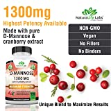 D-Mannose 1,300 mg with Cranberry Extract