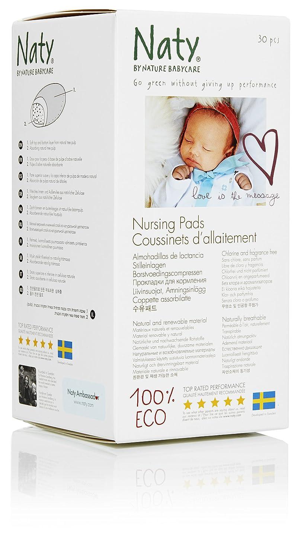Nature Babycare Eco-Disposable Nursing Pads 244190