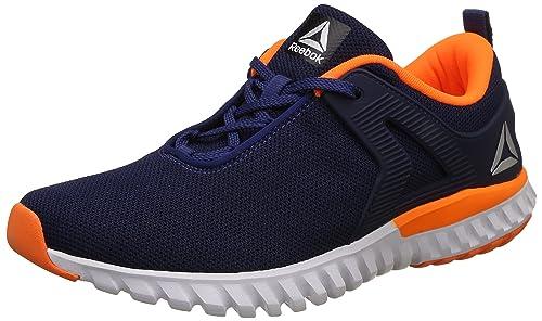 947dc2f14c4ed1 Reebok Men s Blue Navy Orange Blk Running Shoes-6 UK Indian (40 EU ...