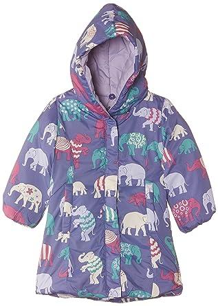 f1c4bb856 Hatley Little Girls  Girls  Reversible Winter Puffer - Patterned Elephants