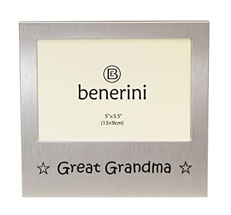 benerini \' Great Grandma \' - Photo Picture Frame Gift - 5 x 3.5 ...