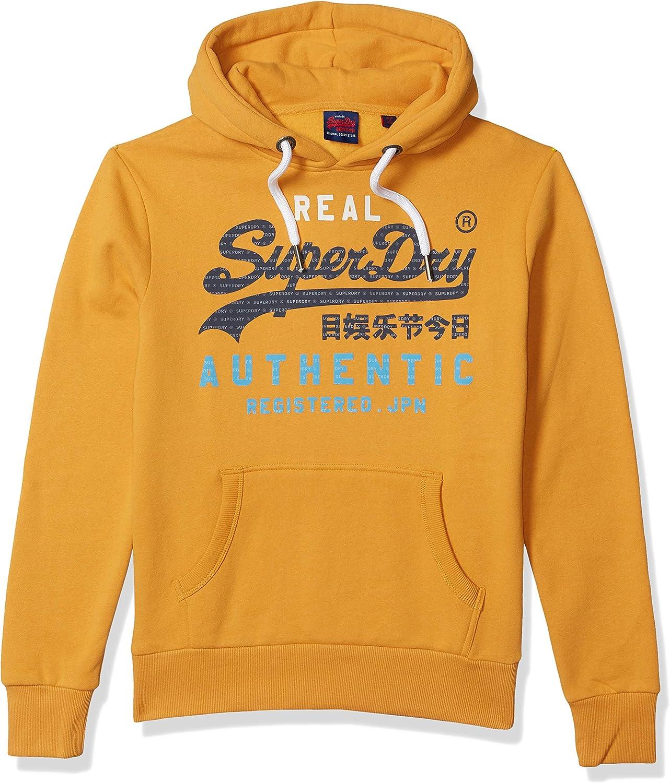 Superdry Mens Vl Authentic Tri Hoodie Hooded Sweatshirt
