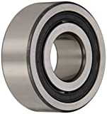 FAG NJ2207E-TVP2 Cylindrical Roller Bearing, Single Row, Straight Bore, Removable Inner Ring, Flanged, High Capacity, Normal Clearance, Metric, 35mm ID, 72mm OD, 23mm Width