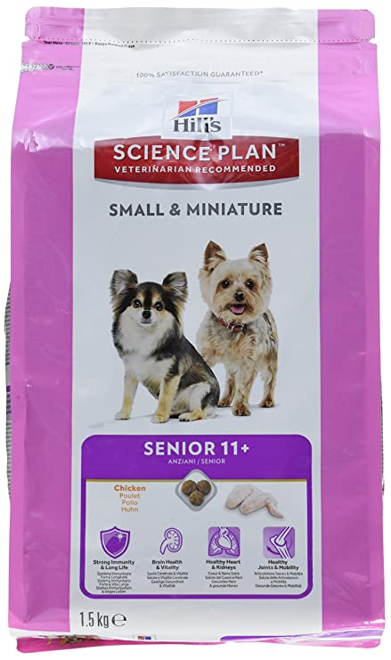 Hills Chadog Dog Food Senior 11+ Small & Mini Pollo ...