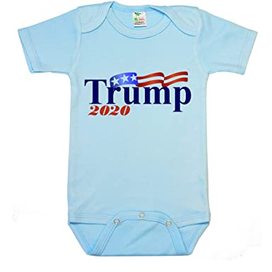 "9d850adca Image Unavailable. Image not available for. Color: "" Trump 2020 ""  Custom Boutique Baby bodysuit ..."
