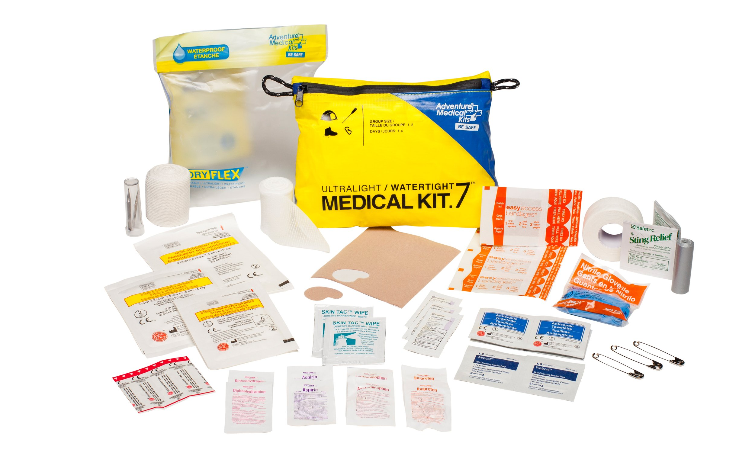Adventure Medical Kits Ultralight and Watertight .7 First Aid Kit by Adventure Medical Kits