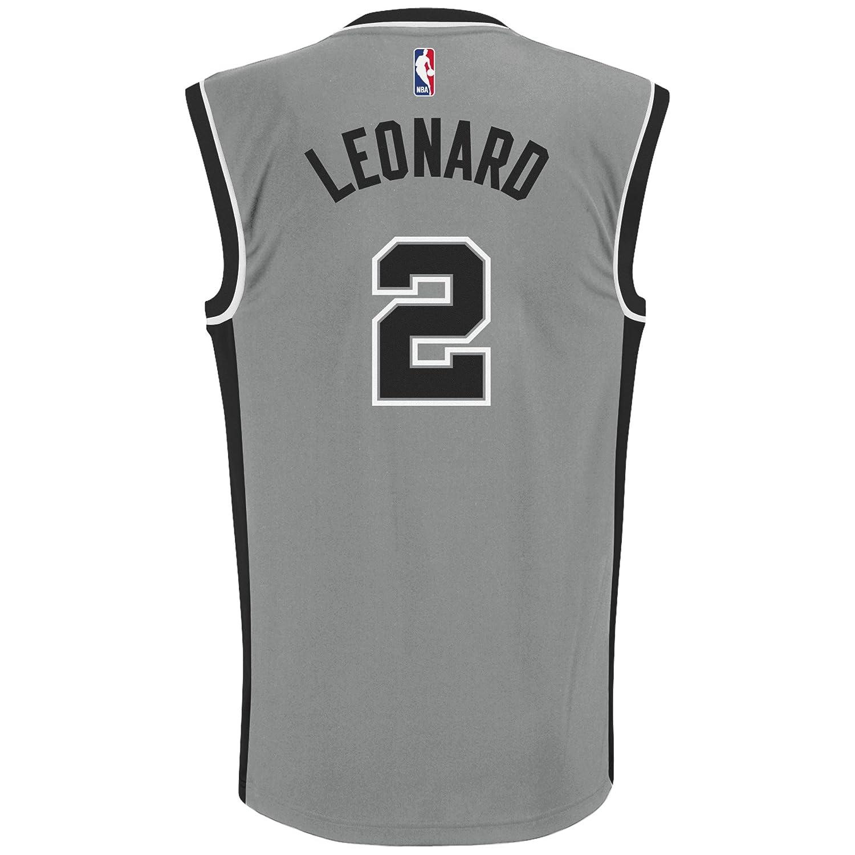 454c47f65af94 Amazon.com : NBA San Antonio Spurs Kawhi Leonard #2 Men's Replica ...