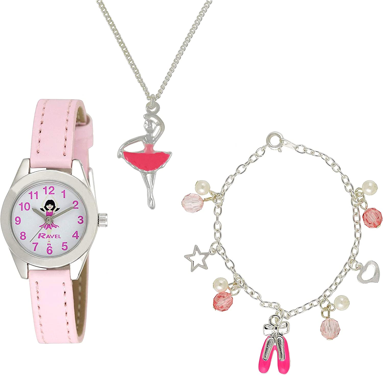 Ravel R2208 - Reloj para niños de Cuarzo, Correa de plástico, Color Rosa