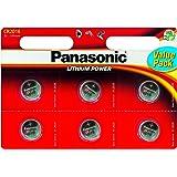 Panasonic CR2016 - Micropile al Litio, blister da 6 pile