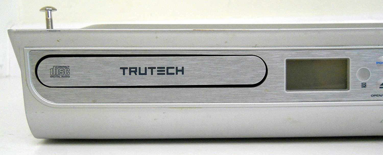 amazon com trutech kcd3188 undercabinet cd player compact disc rh amazon com