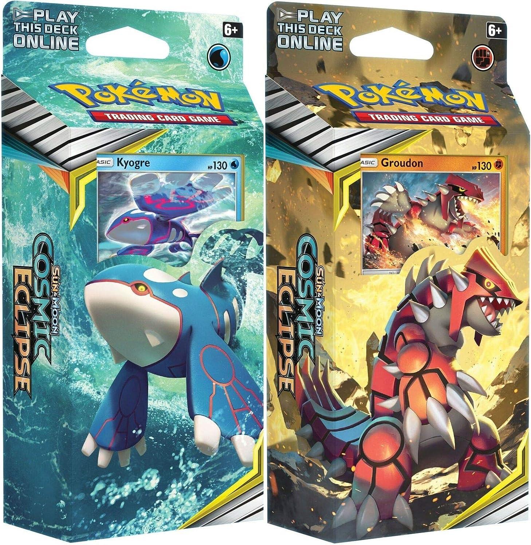 Pokémon 81596 Pokemon-Sun and Moon 12: Cosmic Eclipse-Theme Decks ...
