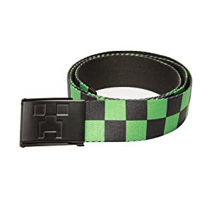 Minecraft Creeper Web Belt