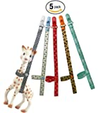 SmarToys Sophie The Giraffe Toy Harness Strap Saver Sitter Clip (Only 5 Harness)
