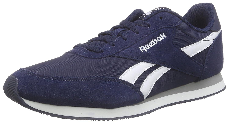 Reebok Herren Royal Classic Jogger 2 Low-Top  42 EU|Blau (Collegiate Navy/White/Baseball Grey)