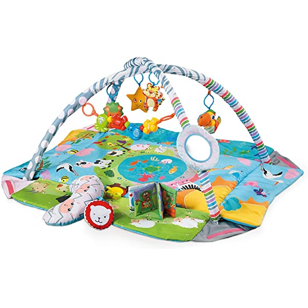 Super Soft Fabric 90 x 120cm Baby Gym That Grows with Baby by Blissaby Pink Baby Play Mat Play Gym Large Size