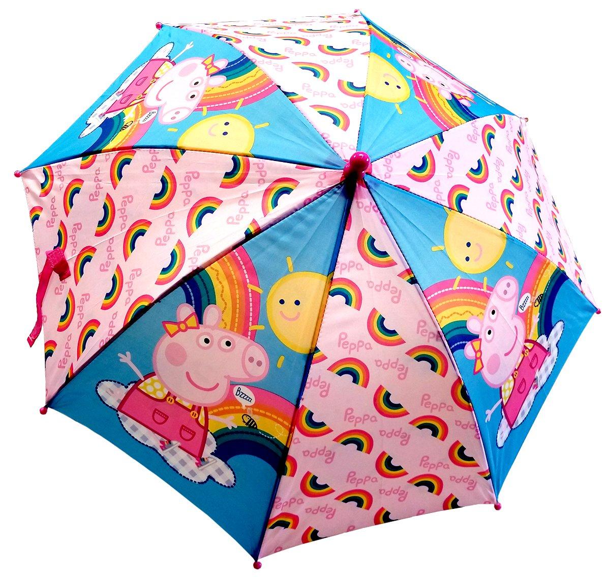 Peppa Pig Stick Umbrella For Girls , One Size