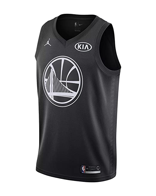 Nike NBA Golden State Warriors Kevin Durant 35 All Star Game 2018 Los Angeles Jersey Oficial Jordan Brand, Camiseta de Hombre: Amazon.es: Ropa y accesorios