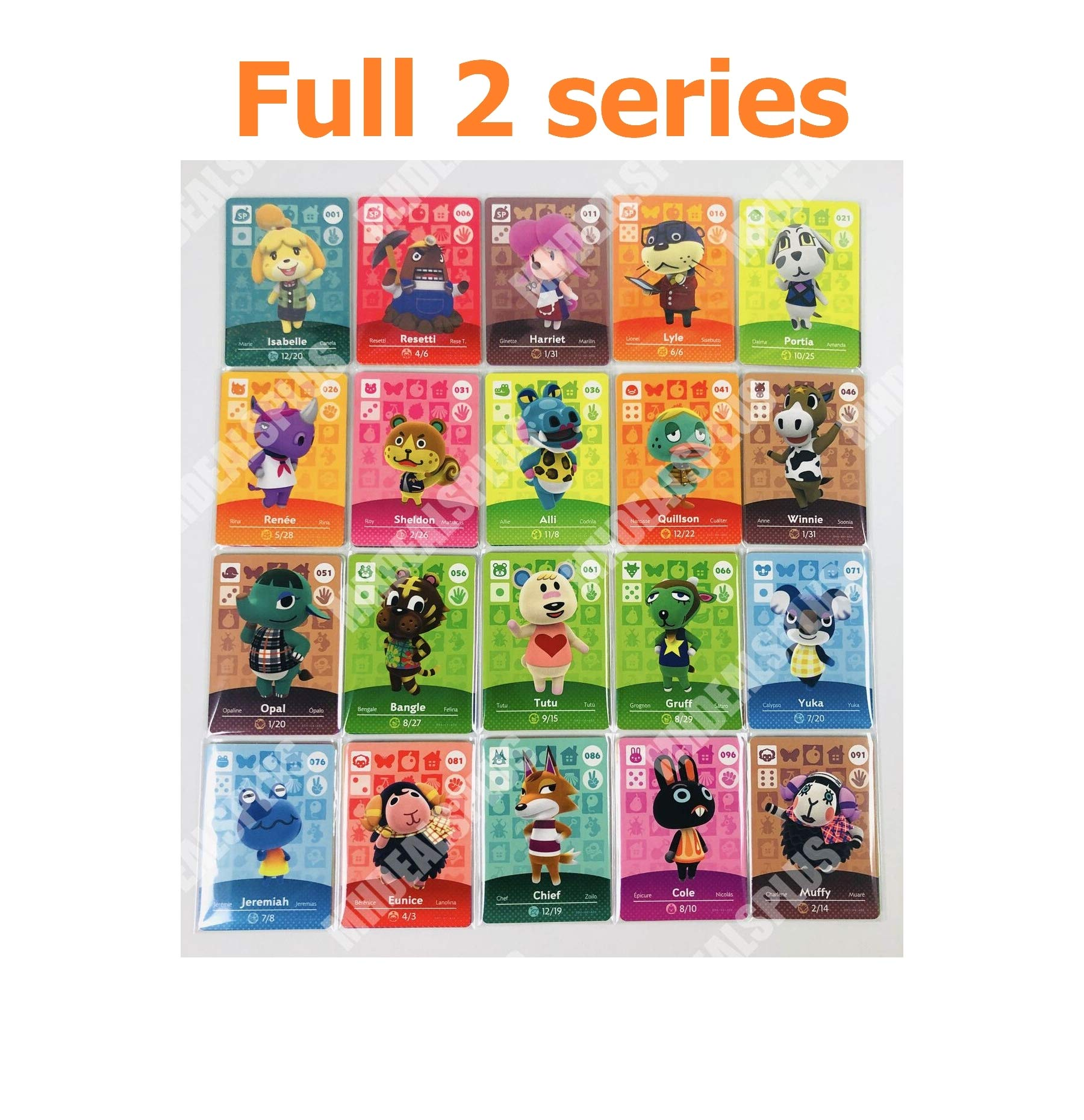High Liked New Crossing 101-200 Cards Complete Set Series 2 US Version Quick Arrive