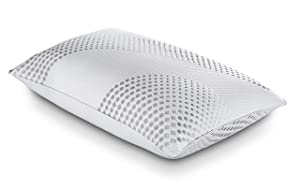 PureCare PCCELV703 Body Chemistry Comfy Hybrid Pillow, Technical Textile Cover, King, White