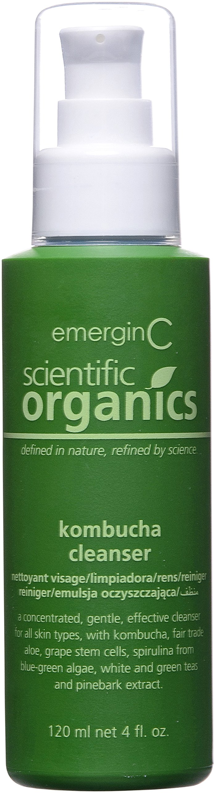 emerginC Scientific Organics - Kombucha Cleanser with Plant Stem Cells to Help Visibly Improve Tone +