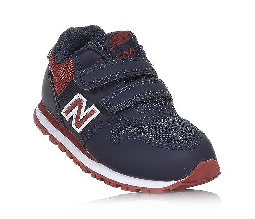 san francisco e7723 301ee New Balance 500 Scarpe Sneaker Bambino Blu Rosso KV500NSI ...