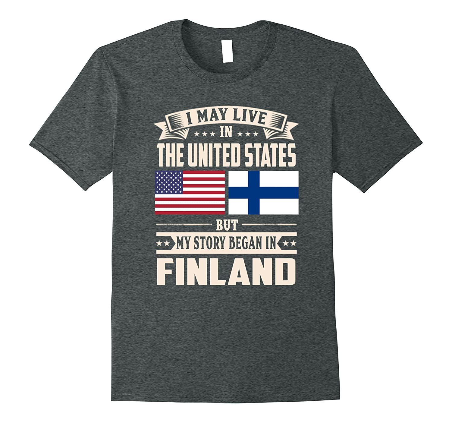 Finland lovers in usa shirt
