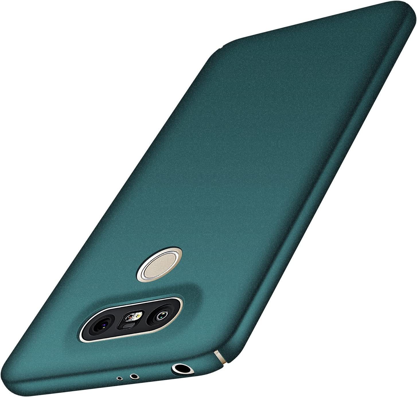 Anccer LG G5 Case [Colorful Series] [Ultra-Thin] [Anti-Drop] Premium Material Slim Full Protection Cover for LG G5 (Gravel Green)