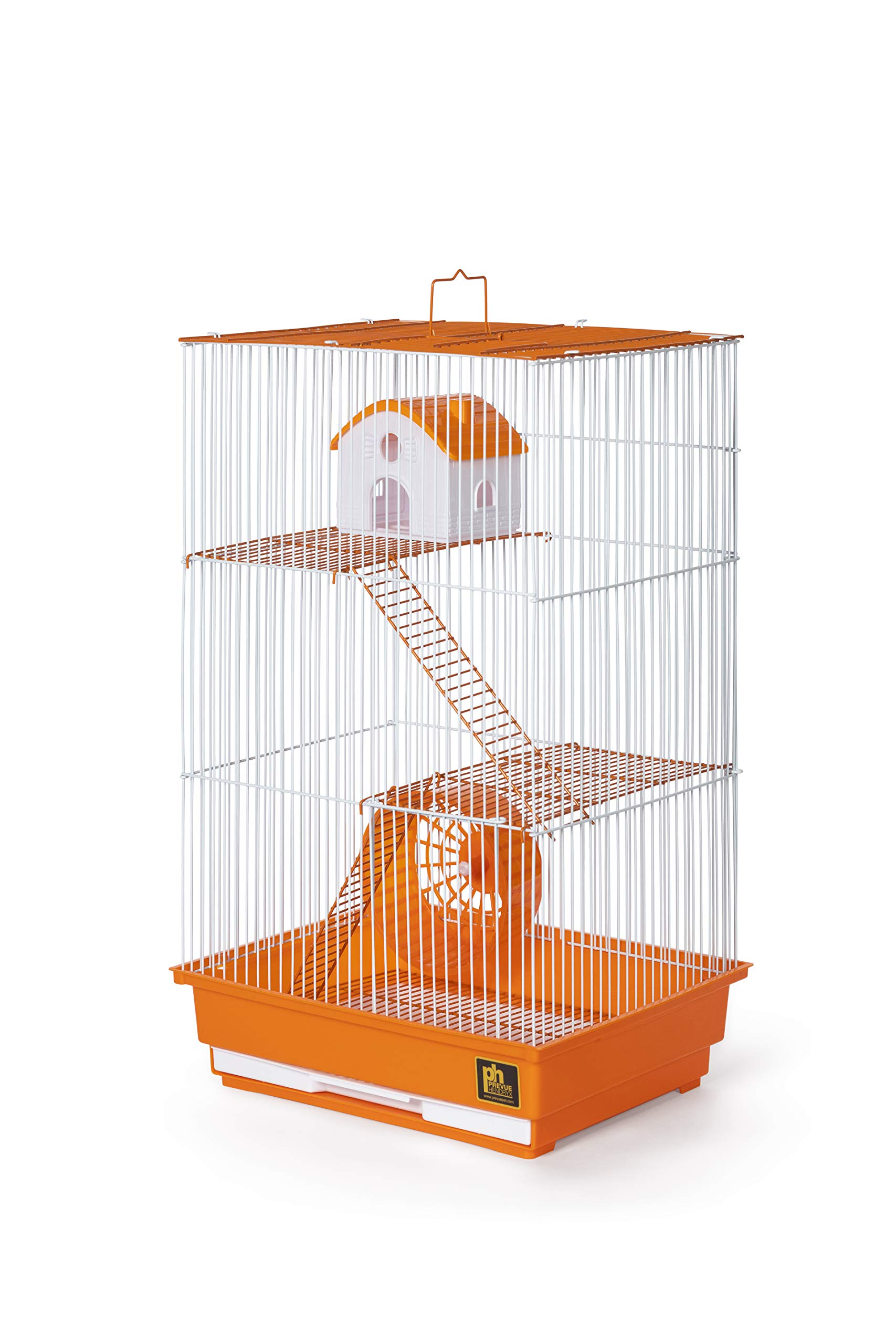 Prevue Pet Products Three-Story Hamster & Gerbil Cage Orange & White SP2030O by Prevue Pet Products (Image #3)