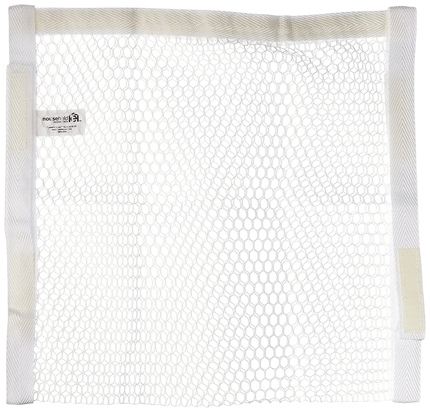 Household Essentials 135 Polyester Sneaker Wash and Dry Bag for Laundry Machines - White Hosuehold Essentials