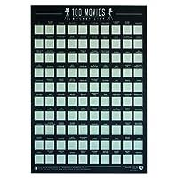 Gift Republic (GR630004) Bucket List Poster 100 Movies