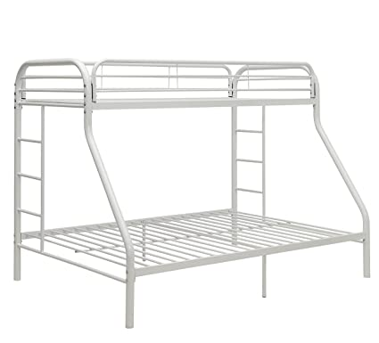 Amazon Com Comfortscape Cs 02052wh Twin Xl Bunk Bed Queen Kitchen