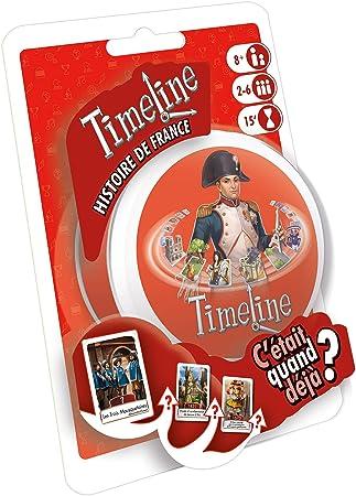 Asmodee – Timeline Historia de Francia, timecofr, Juego de salón ...